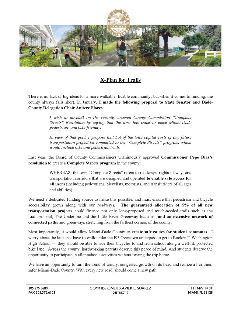 Commissioner Suarez Plan for Trails (1)