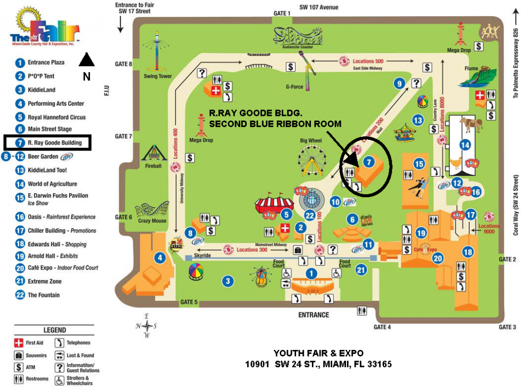 Youth Fair-Map