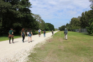 Health and nature come together at the Ludlam Trail!