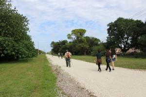 Walking towards Dadeland