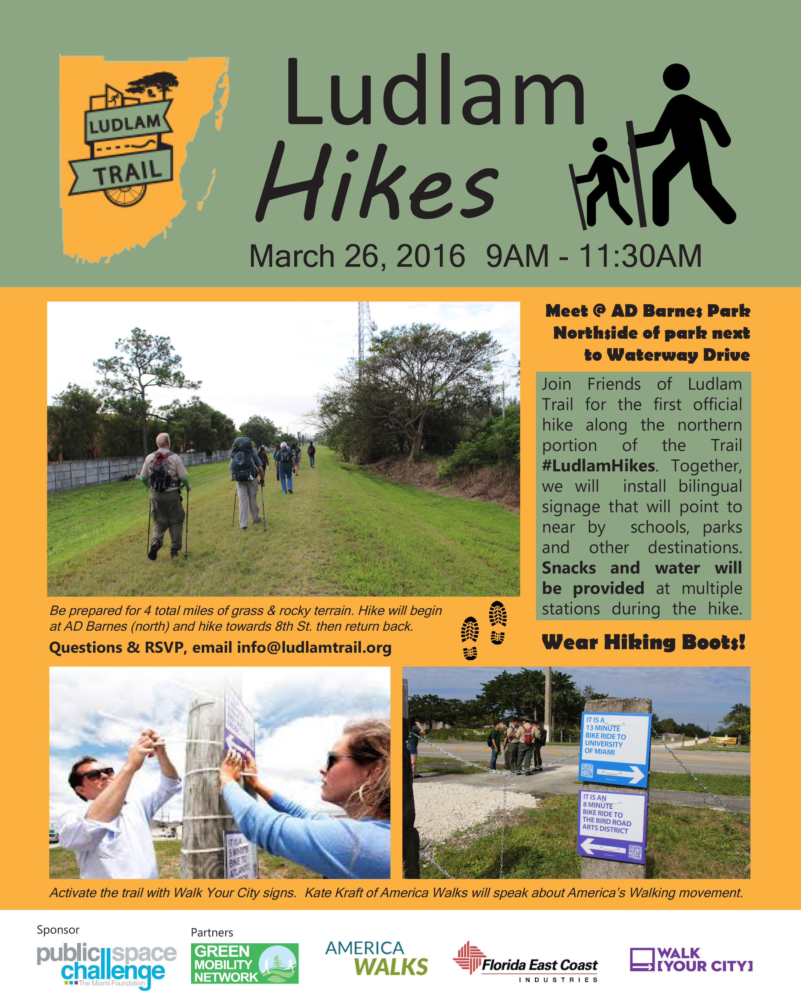 Ludlam Trail Hike