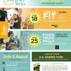 Announcing Ludlam Trail's Summer Series!