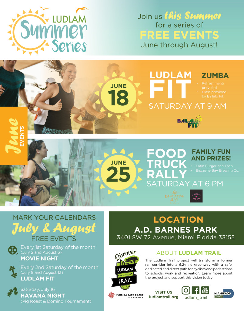 Ludlam Trail Summer Series June Events