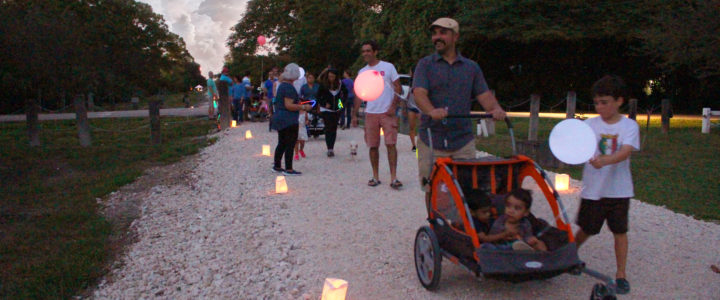 "Ludlam Trail Hosts 2nd Annual ""Ludlam Lights"" Festival and Lantern Parade in South Miami"